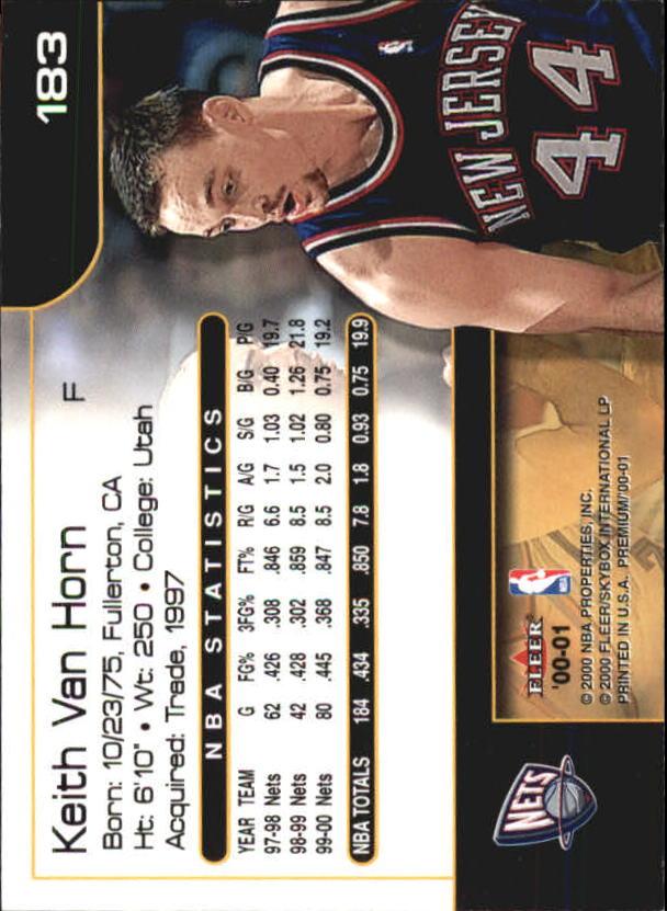 2000-01-Fleer-Premium-Basketball-Cards-Pick-From-List thumbnail 359