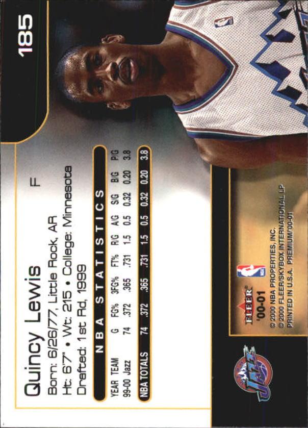 2000-01-Fleer-Premium-Basketball-Cards-Pick-From-List thumbnail 363