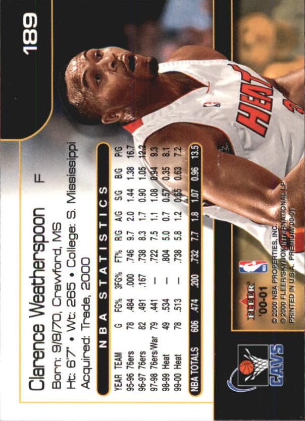 2000-01-Fleer-Premium-Basketball-Cards-Pick-From-List thumbnail 371
