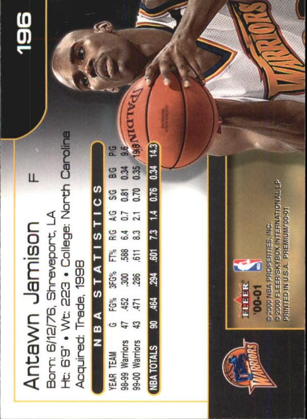 2000-01-Fleer-Premium-Basketball-Cards-Pick-From-List thumbnail 385