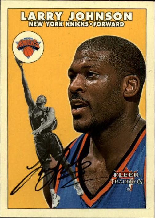2000-01 Fleer Glossy #79 Larry Johnson