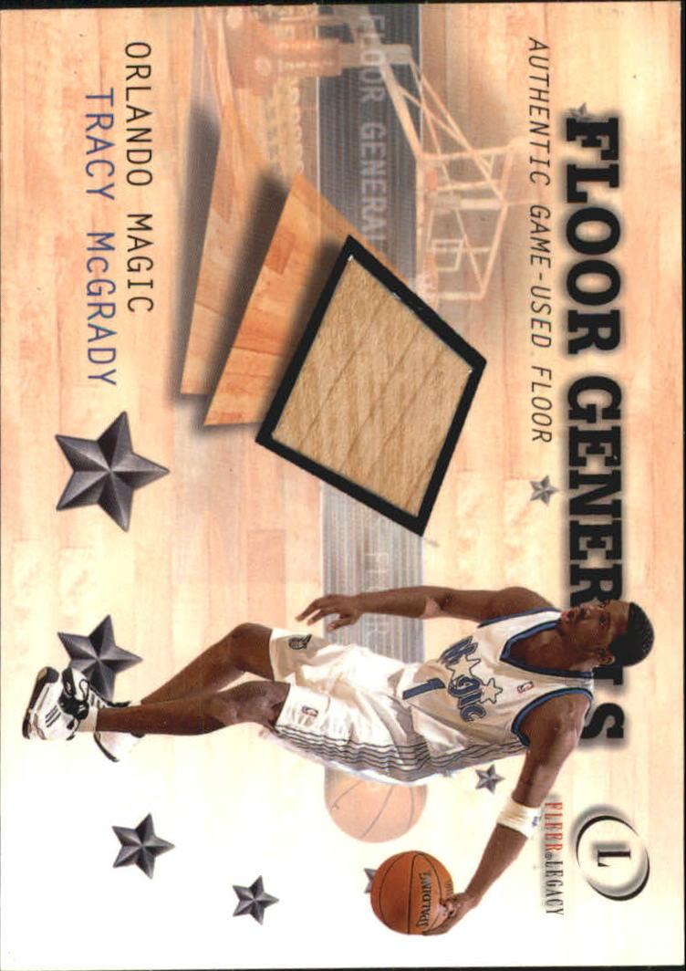 2000-01 Fleer Legacy Floor Generals #FG6 Tracy McGrady
