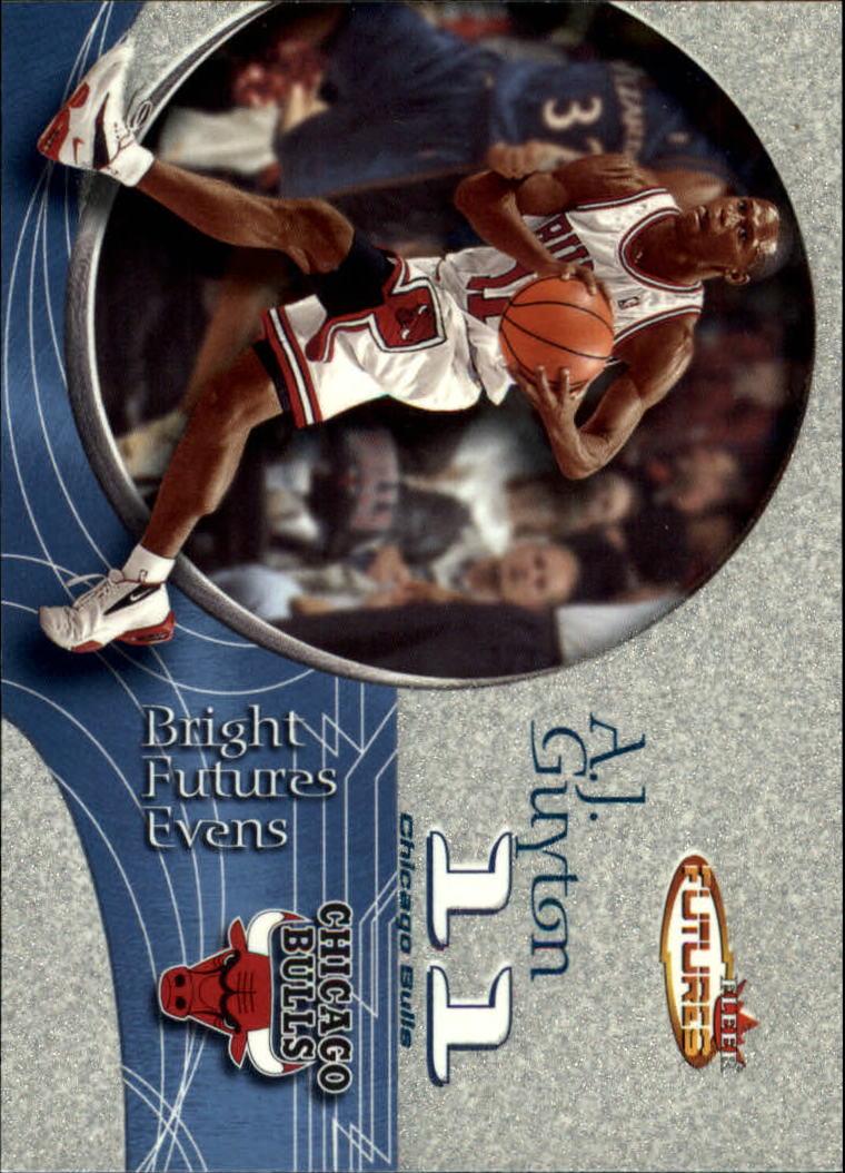 2000-01 Fleer Futures #212 A.J. Guyton RC