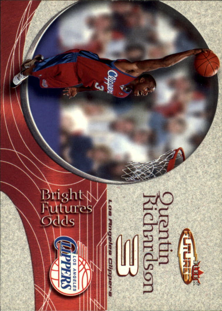 2000-01 Fleer Futures #223 Quentin Richardson RC