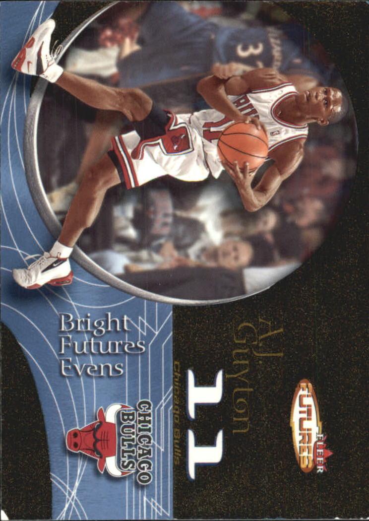 2000-01 Fleer Futures Black Gold #212 A.J. Guyton