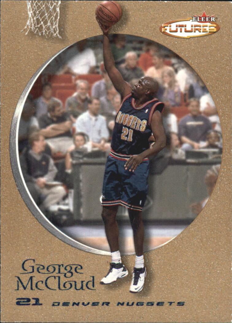 2000-01 Fleer Futures Copper #3 George McCloud
