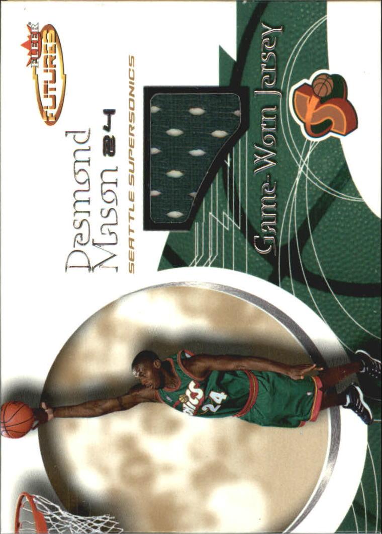 2000-01 Fleer Futures Rookie Game Jerseys #241 Desmond Mason