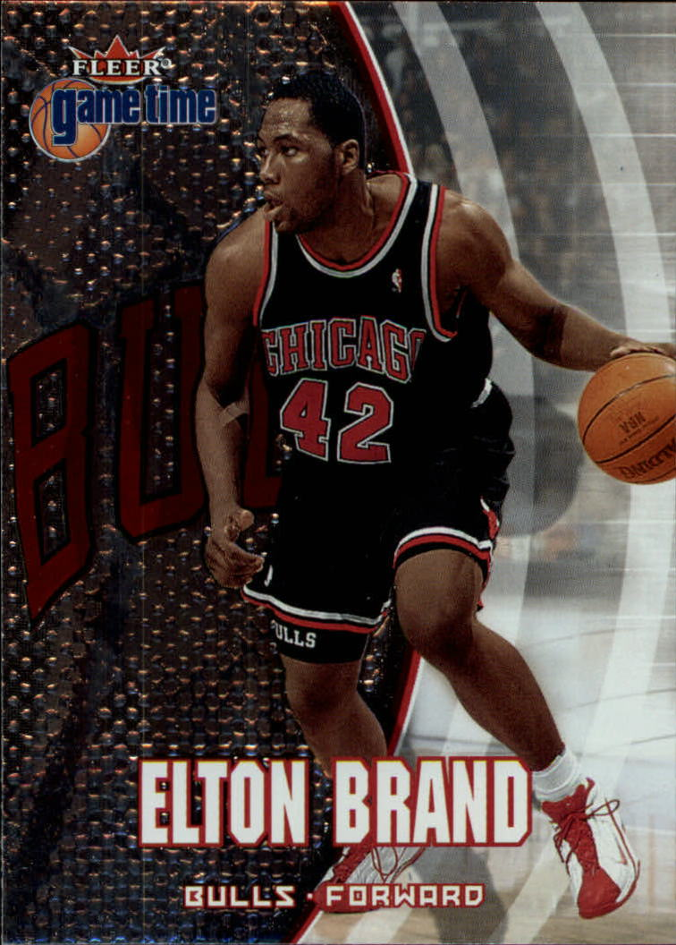 2000-01 Fleer Game Time #53 Elton Brand