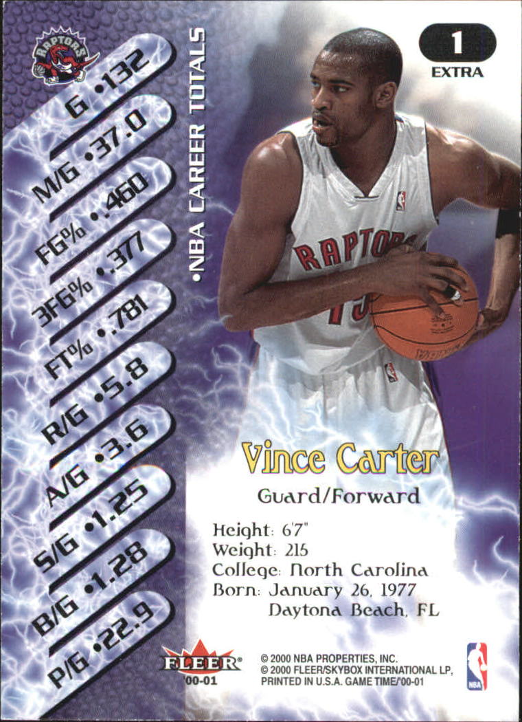 2000-01-Fleer-Game-Time-Extra-Basketball-Cards-Pick-From-List thumbnail 3