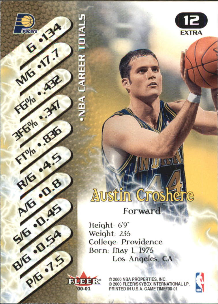 2000-01-Fleer-Game-Time-Extra-Basketball-Cards-Pick-From-List thumbnail 5