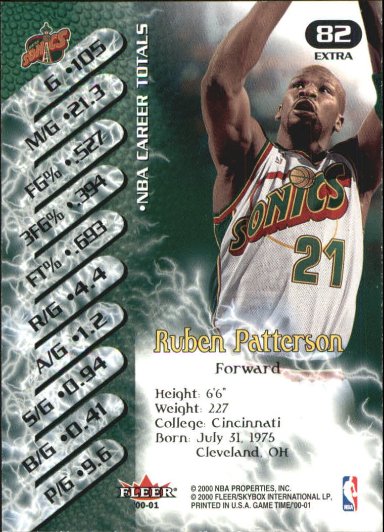 2000-01-Fleer-Game-Time-Extra-Basketball-Cards-Pick-From-List thumbnail 7