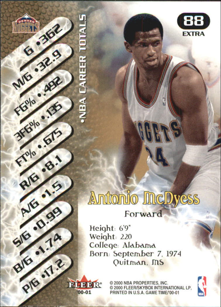 2000-01-Fleer-Game-Time-Extra-Basketball-Cards-Pick-From-List thumbnail 9