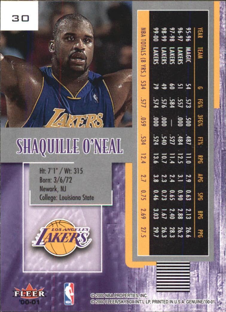 2000-01-Fleer-Genuine-Basketball-Cards-Pick-From-List thumbnail 7