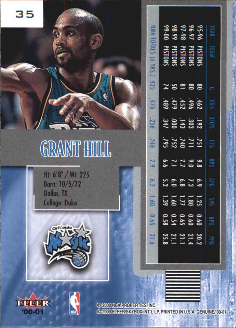 2000-01-Fleer-Genuine-Basketball-Cards-Pick-From-List thumbnail 11