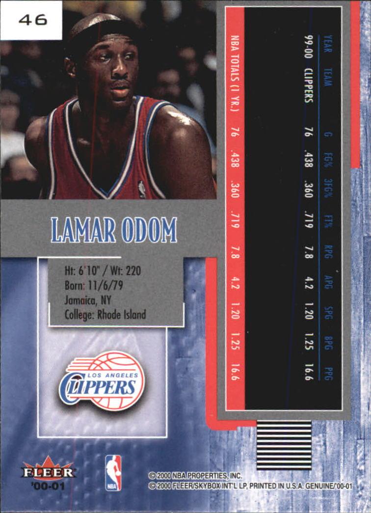 2000-01-Fleer-Genuine-Basketball-Cards-Pick-From-List thumbnail 13