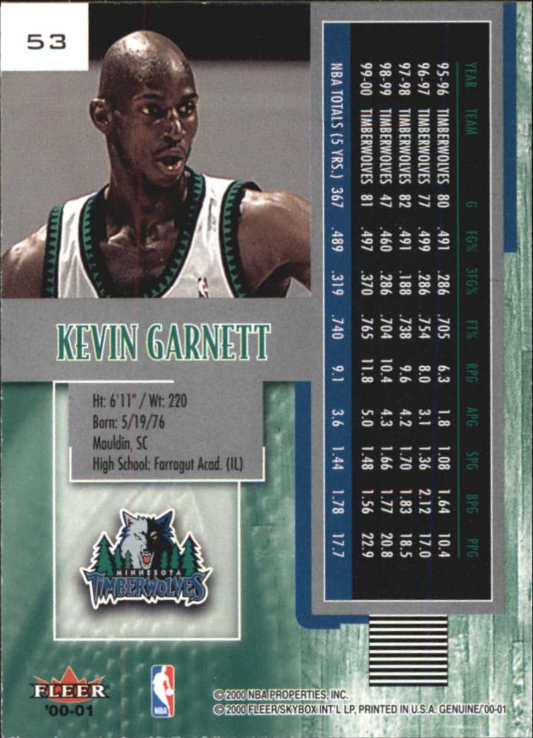 2000-01-Fleer-Genuine-Basketball-Cards-Pick-From-List thumbnail 17