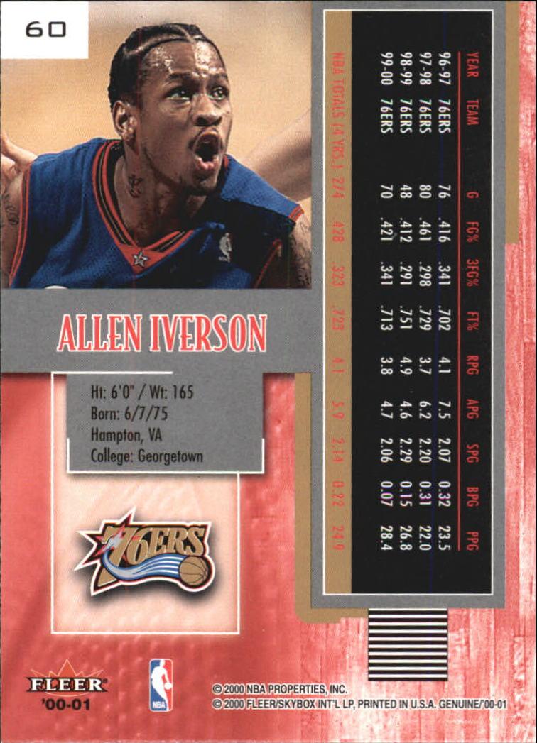 2000-01-Fleer-Genuine-Basketball-Cards-Pick-From-List thumbnail 21