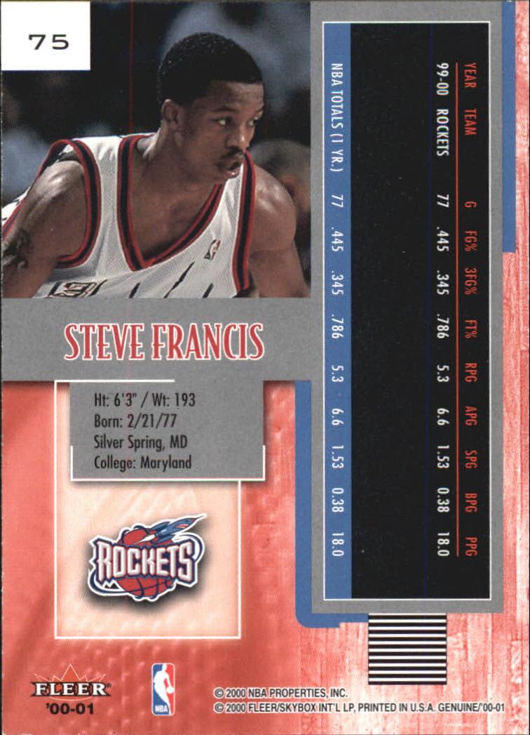 2000-01-Fleer-Genuine-Basketball-Cards-Pick-From-List thumbnail 23