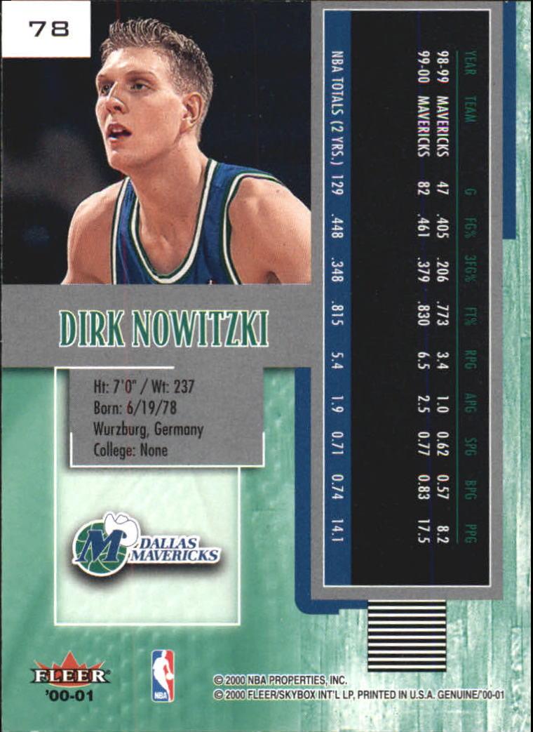 2000-01-Fleer-Genuine-Basketball-Cards-Pick-From-List thumbnail 25