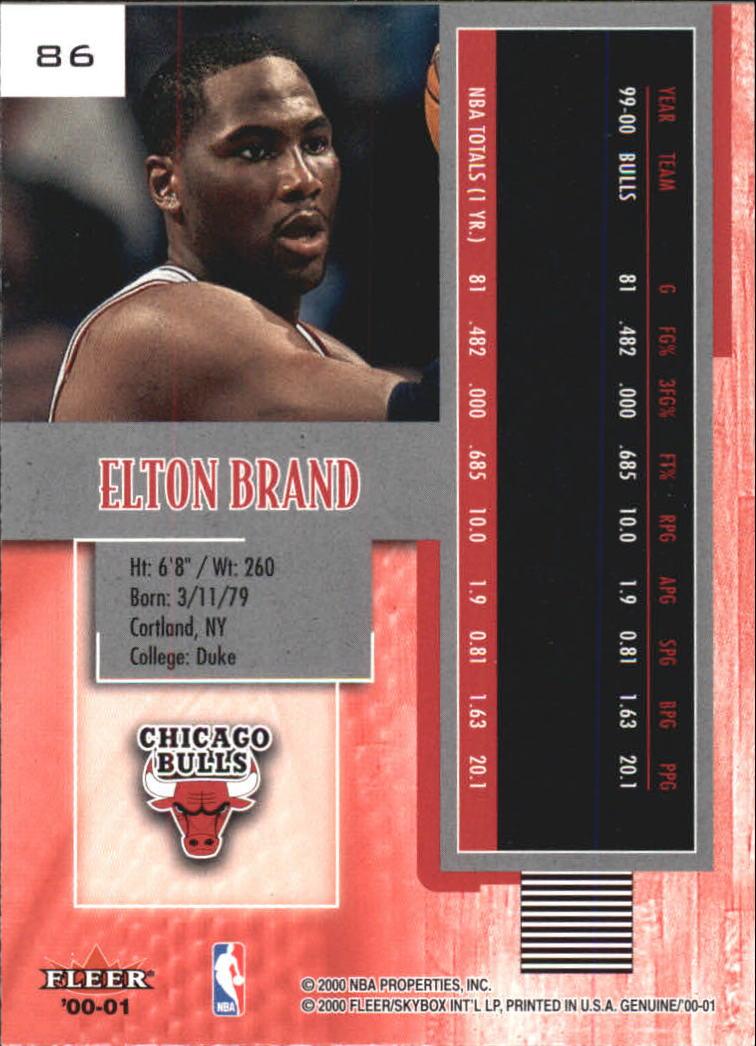 2000-01-Fleer-Genuine-Basketball-Cards-Pick-From-List thumbnail 27