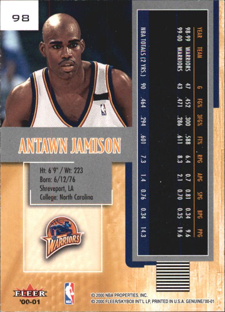 2000-01-Fleer-Genuine-Basketball-Cards-Pick-From-List thumbnail 29