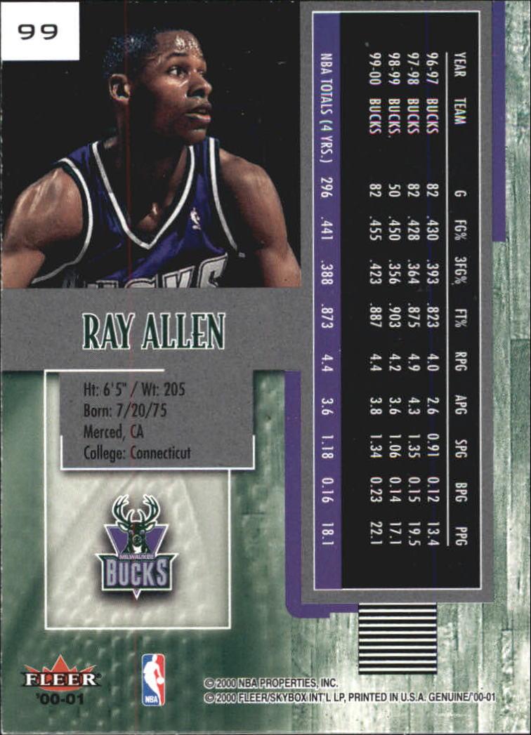 2000-01-Fleer-Genuine-Basketball-Cards-Pick-From-List thumbnail 31