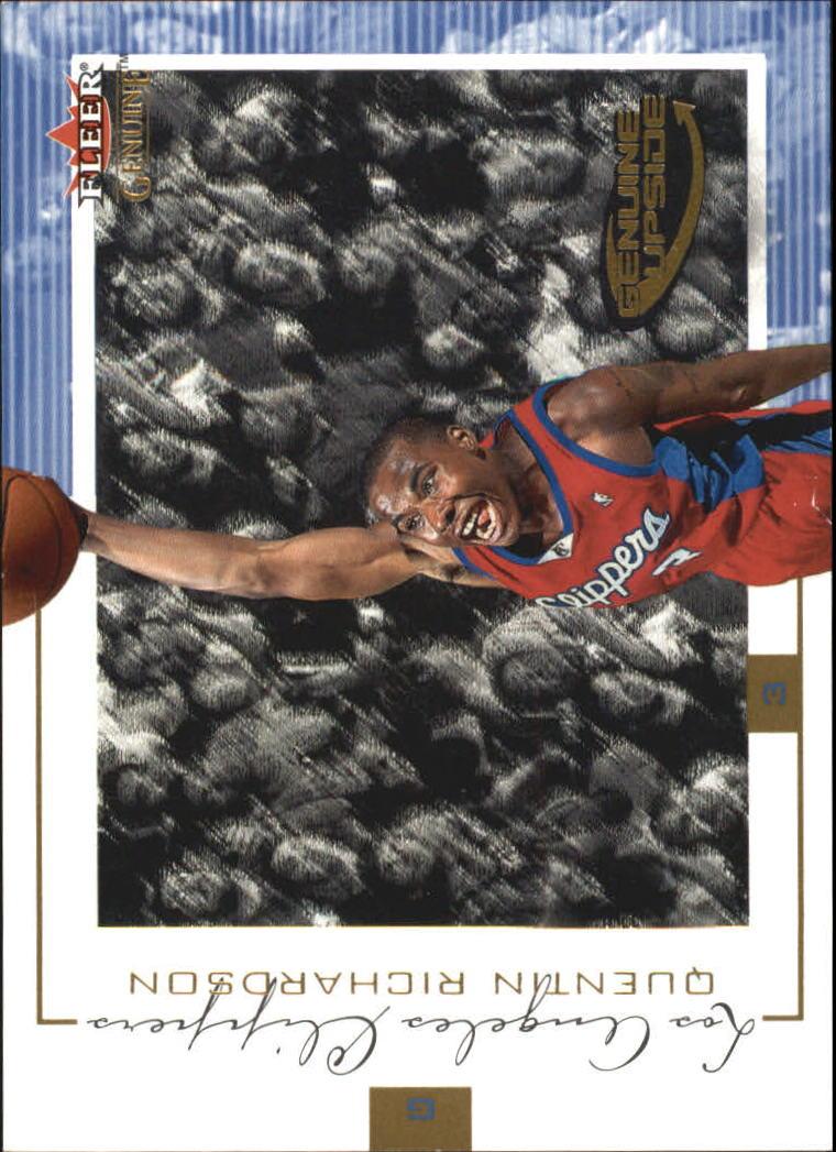 2000-01 Fleer Genuine #110 Quentin Richardson RC