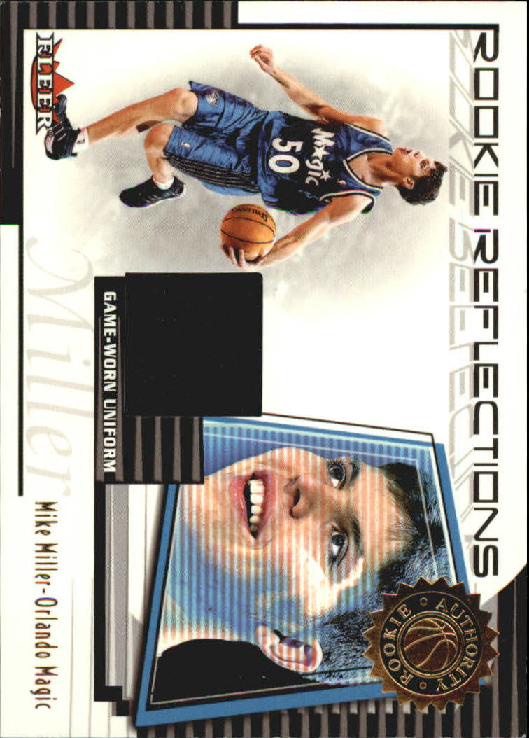 2000-01 Fleer Authority Rookie Reflections #RR7 Mike Miller