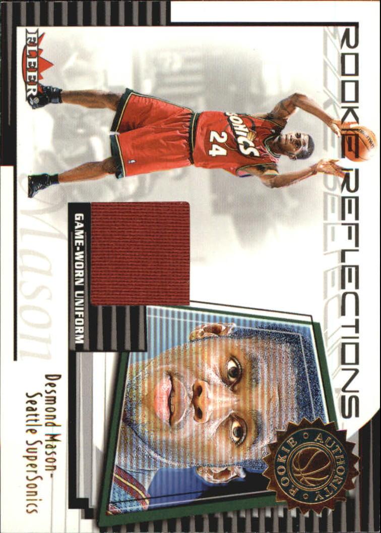 2000-01 Fleer Authority Rookie Reflections #RR11 Desmond Mason