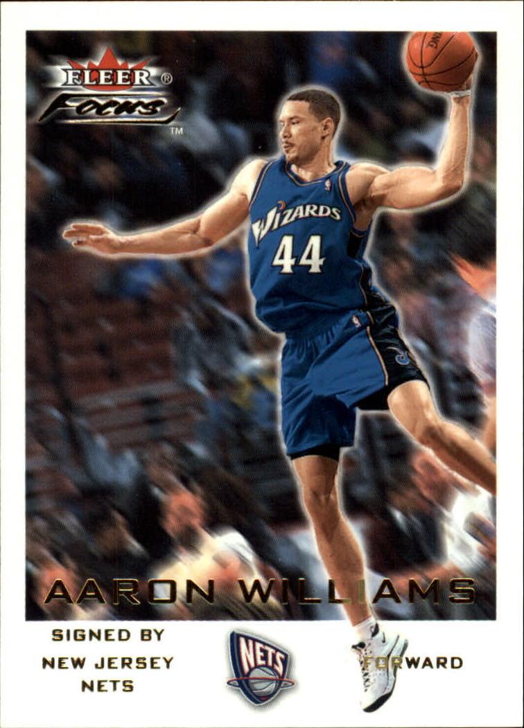 2000-01 Fleer Focus #10 Aaron Williams