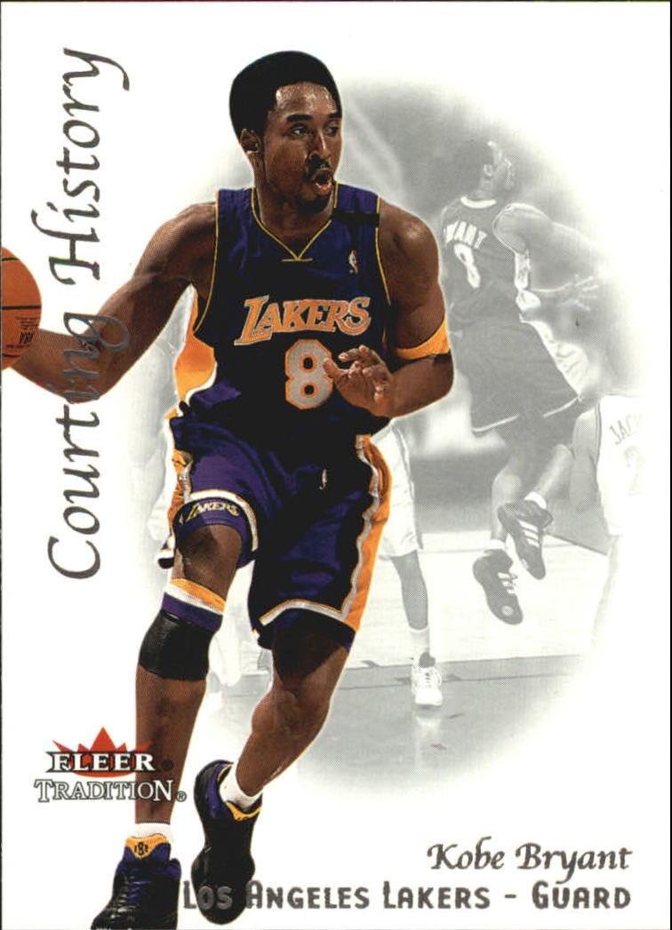 2000-01 Fleer Courting History #CH4 Kobe Bryant