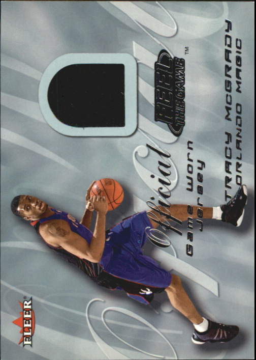 2000-01 Fleer Feel the Game #21 Tracy McGrady