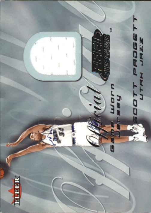 2000-01 Fleer Feel the Game #27B Shaquille O'Neal Yellow