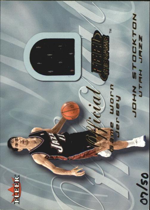 2000-01 Fleer Feel the Game Gold #33 John Stockton