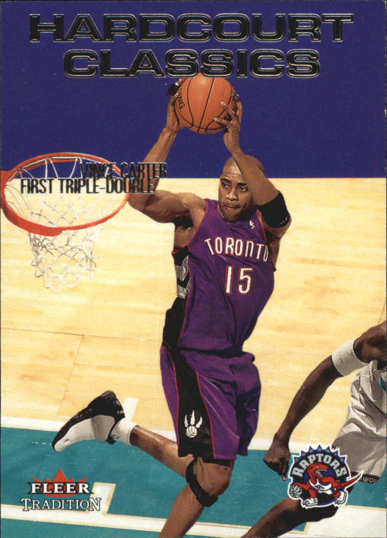 2000-01 Fleer Hardcourt Classics #HC1 Vince Carter