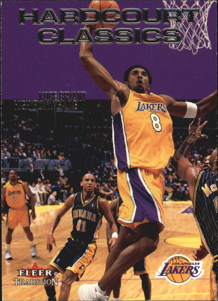 2000-01 Fleer Hardcourt Classics #HC3 Kobe Bryant