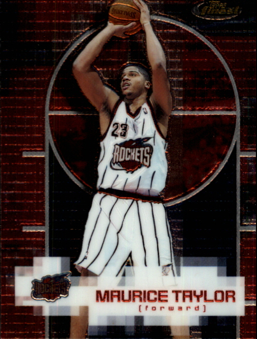 2000-01 Finest #89 Maurice Taylor