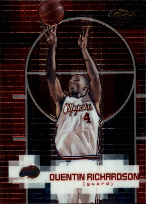 2000-01 Finest #142 Quentin Richardson RC
