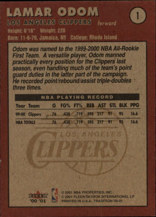 2000-01-Fleer-Basketball-Cards-Pick-From-List thumbnail 3