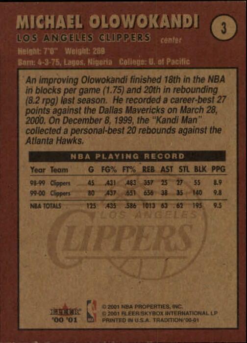 2000-01-Fleer-Basketball-Cards-Pick-From-List thumbnail 7
