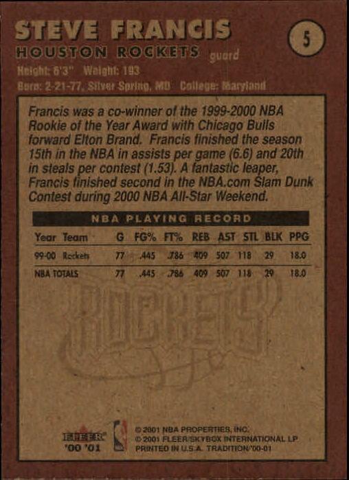 2000-01-Fleer-Basketball-Cards-Pick-From-List thumbnail 9