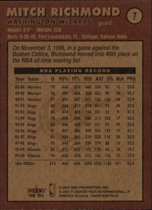 2000-01-Fleer-Basketball-Cards-Pick-From-List thumbnail 13
