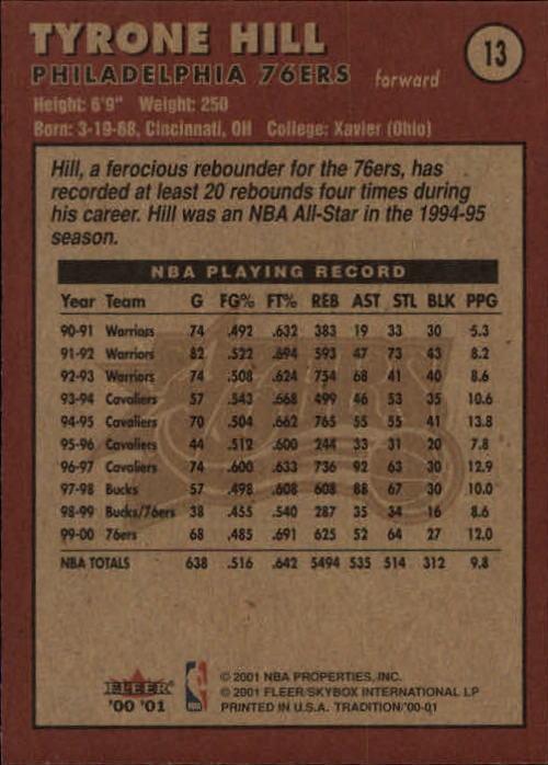 2000-01-Fleer-Basketball-Cards-Pick-From-List thumbnail 23