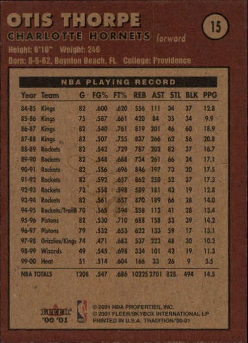 2000-01-Fleer-Basketball-Cards-Pick-From-List thumbnail 27