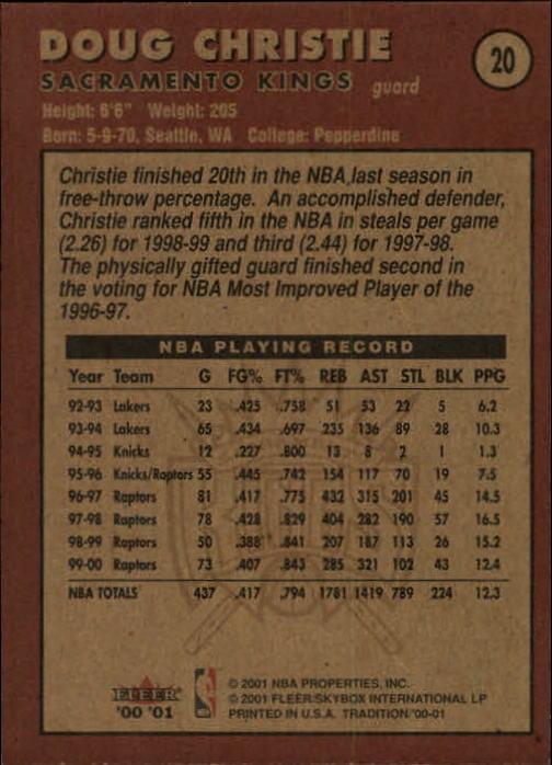 2000-01-Fleer-Basketball-Cards-Pick-From-List thumbnail 33