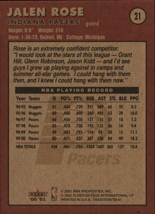 2000-01-Fleer-Basketball-Cards-Pick-From-List thumbnail 35