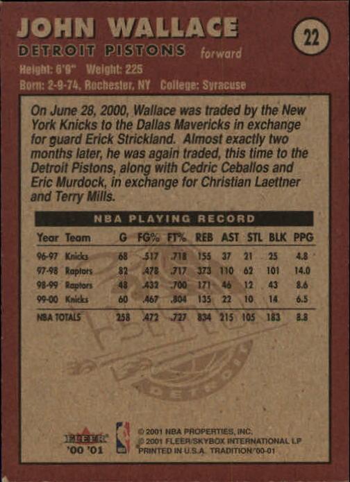 2000-01-Fleer-Basketball-Cards-Pick-From-List thumbnail 37