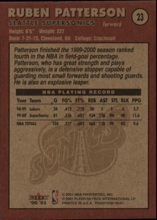 2000-01-Fleer-Basketball-Cards-Pick-From-List thumbnail 39