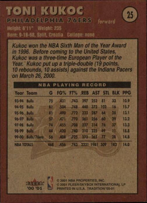 2000-01-Fleer-Basketball-Cards-Pick-From-List thumbnail 43