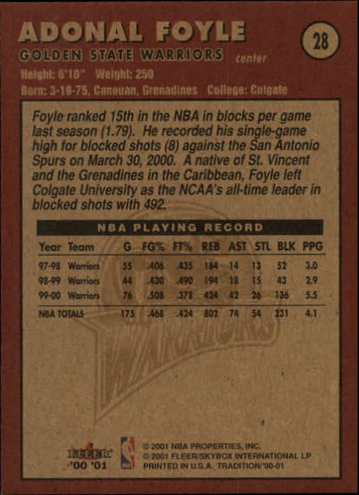 2000-01-Fleer-Basketball-Cards-Pick-From-List thumbnail 47